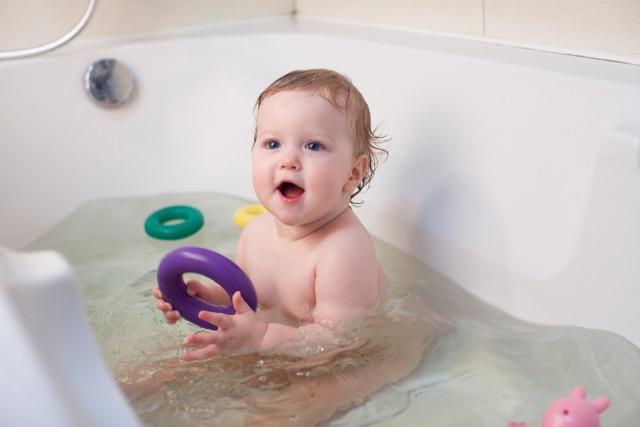 赤ちゃんのお風呂