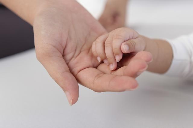 生後6か月~2歳頃の赤ちゃんの手の成長